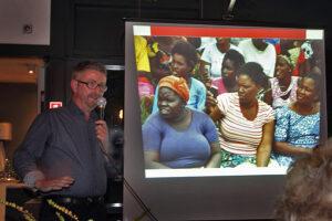 Bent Nicolajsen holdt et meget interessant foredrag om det moderne Afrika der profiterer af den nye teknologi