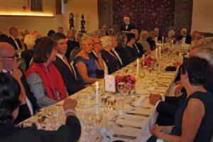 70 medlemmer og gæster nød den herlige Festmiddag for 50 års jubilæet den 11. september 2015 i Fredensborghusenes Festsal