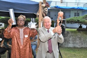 Sommerfest på Benins ambassade 2019