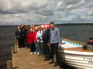 Søndag d. 16. juni var Det Danske Afrika Selskab på Sommersafari, undervejs blev Lake Esrum krydset.
